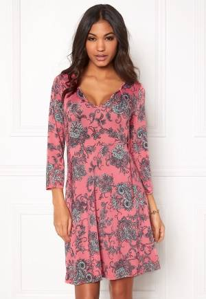 Happy Holly Catarina dress Pink / Patterned 32/34L