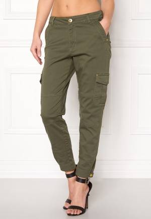 Happy Holly Lucy trousers Khaki green 34S