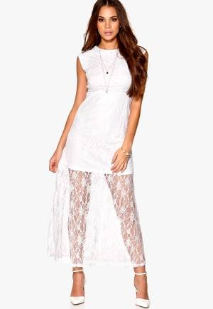 Rut & Circle Lina Dress 002 Optical White 34