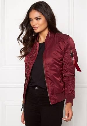 Alpha Industries MA-1 VF LW Burgundy S
