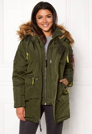 Alpha Industries PPS N3B Jacket Dark Green S