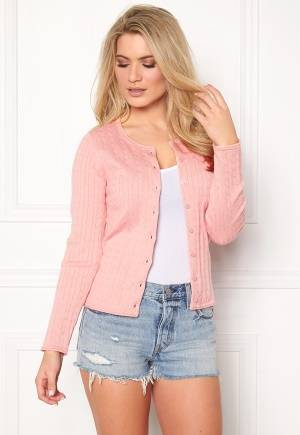 Boomerang Mejram Cable Cardigan 925 Pink Lemonade XL