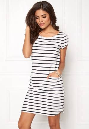 Boomerang Milly Striped Dress 001 Offwhite S