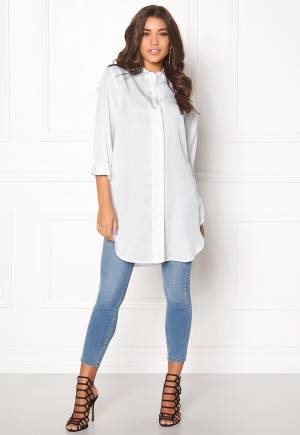 D.Brand Lilly Shirt Dress White M