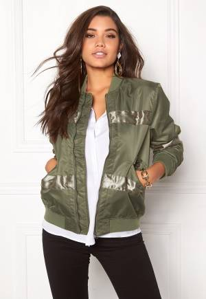 D.Brand Oliver Bomber Jacket Winter Moss Green XS