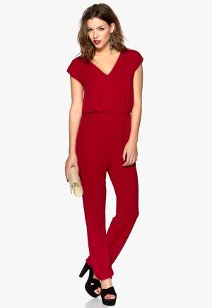 DRY LAKE Odessa Jumpsuit Red XS