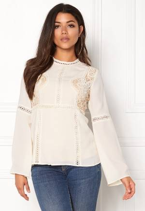 DRY LAKE Vapour Blouse Offwhite S