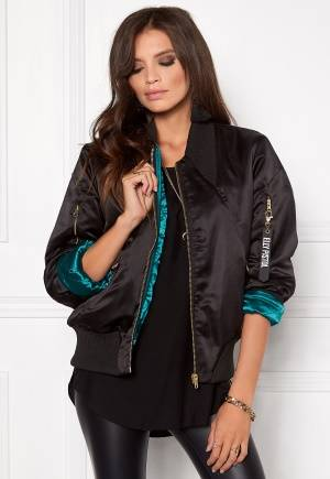 Elly Pistol Jungle Bomber Jacket Black XS