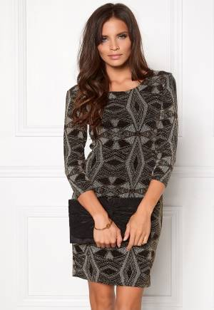 Sisters Point Gexo-15 Dress Black/Gold L