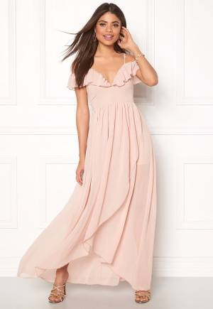 Girl In Mind Maxi Flow Dress Light Pink XS (UK8)