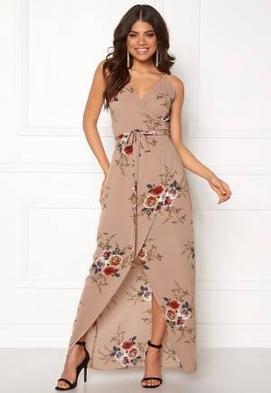 Girl In Mind Mia Floral Wrap Maxi Flower M (UK12)
