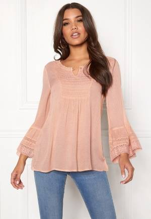 Happy Holly Kristel blouse Dusty pink 48/50