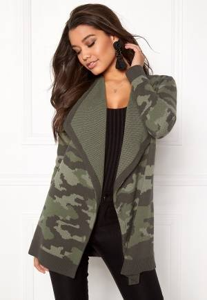 Happy Holly Tove cardigan Camouflage 48/50