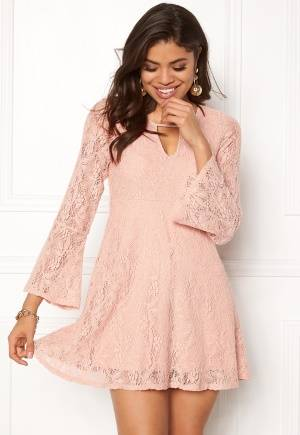 Happy Holly Vanessa lace dress Dusty pink 32/34L