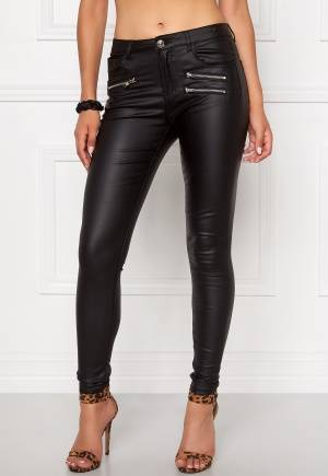 Mixed from Italy Coated Skinny Jeans Black XS (UK8)