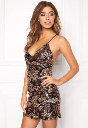 WYLDR Moving on Rose gold sequin M
