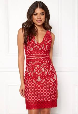 New Look Go Lace Contrast Bcon Red XS (UK8)