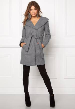OBJECT Jolie Coat Light Grey Melange 42