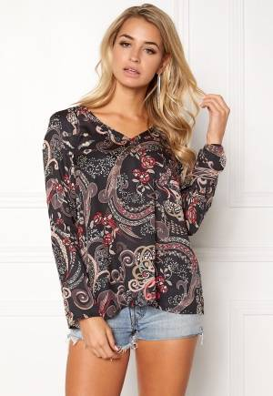Odd Molly Back On Track Blouse Almost Black L (3)