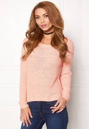 ONLY Geena L/S Pullover Peachy Keen XS