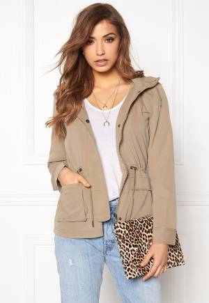 ONLY Starlight spring parka Desert Taupe XS