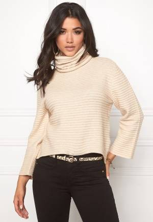 ONLY Texas L/S Rollneck Pumice Stone XS