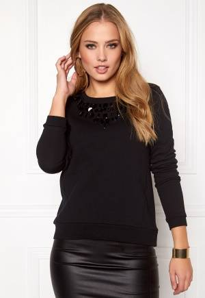 ONLY Wilma L/S ONeck Black M