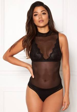 Pieces Calexis T-Neck Body Thong Black XS