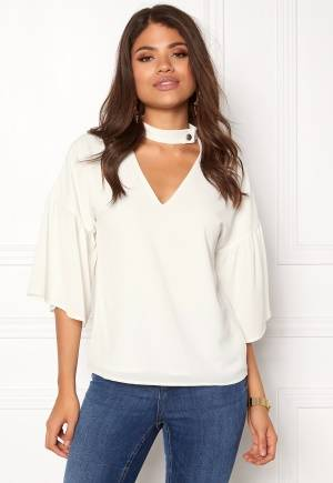 Rut & Circle Elin Blouse Cream XS