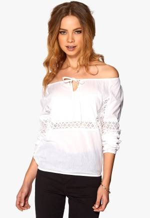 Rut & Circle Ella Blouse 002 Optical White 34