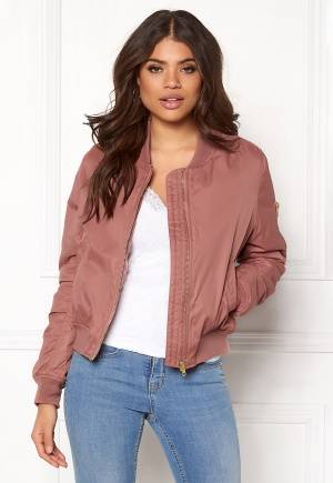 Rut & Circle Kate Bomber Jacket Canyon Pink 36