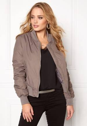 Rut & Circle Kate Bomber Jacket Lt Taupe 40