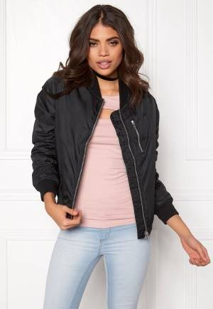 Rut & Circle Kate Front Zip Jacket Musta 34