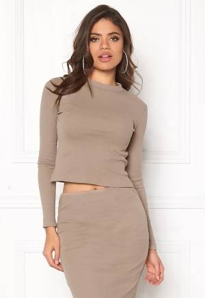 Rut & Circle Lilja Top Clay Gray XS (34)