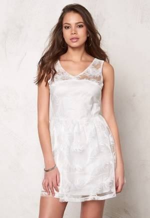 Rut & Circle Michelle Dress White 38