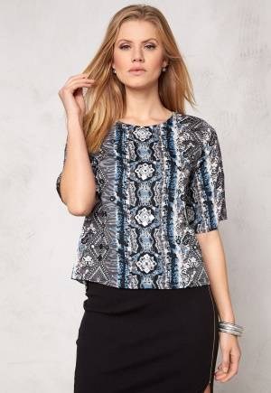 Rut & Circle Sasha Top Black Comb 36