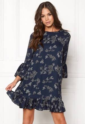 Sisters Point IFO-DR Dress Navy/Print L