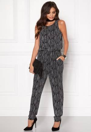 Sisters Point Nisa Jumpsuit 052 Black/Silver XS