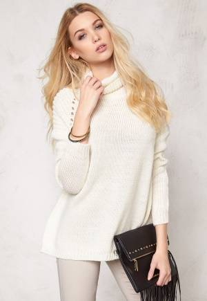 SOAKED IN LUXURY Rebecca Jumper Lily White XS