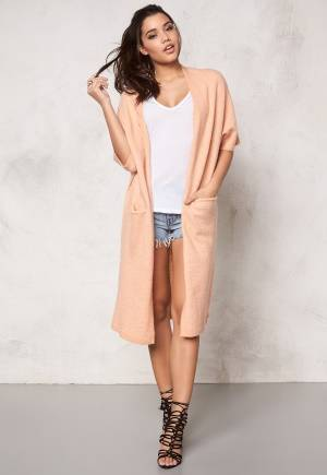 SOAKED IN LUXURY Salvia Cardigan Peach L