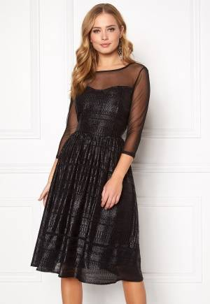 SOAKED IN LUXURY Vogue Dress Black XS