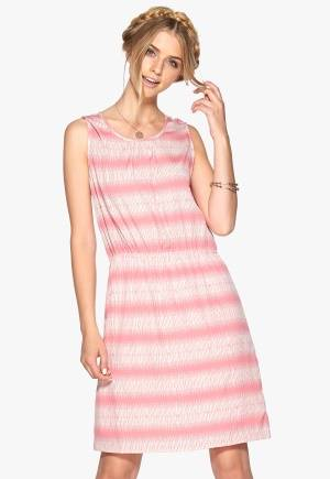 SOAKED IN LUXURY Zona dress Roosa/Offwhite L
