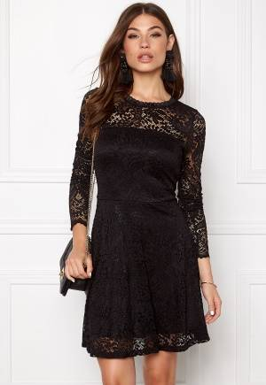 VERO MODA Celeb Lace Short Dress Black XL