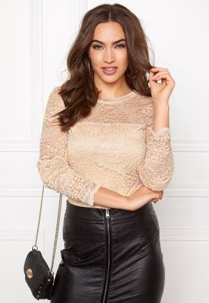 VERO MODA Celeb Lace Top Ivory Cream M