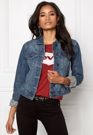 VERO MODA Danger Denim Jacket Medium Blue Denim XS