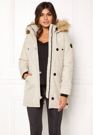 VERO MODA Excursion Parka Oatmeal XS