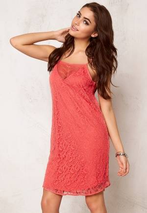 VERO MODA Fifi Nice Lace S Dress Rose of Sharon S