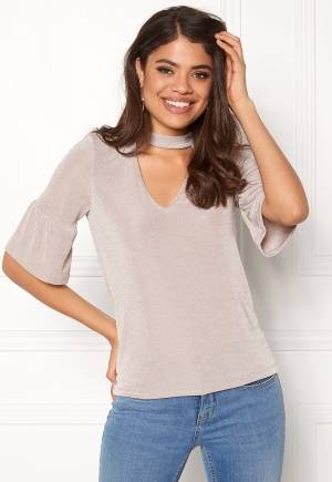 VERO MODA Stretchy Choker 2/4 Top Sphinx S