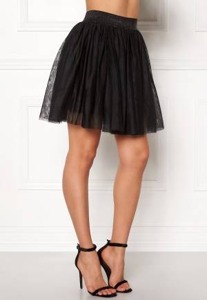VERO MODA Tulle Short Skirt Black L