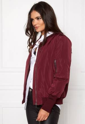 VILA Concrete new jacket Tawny port L